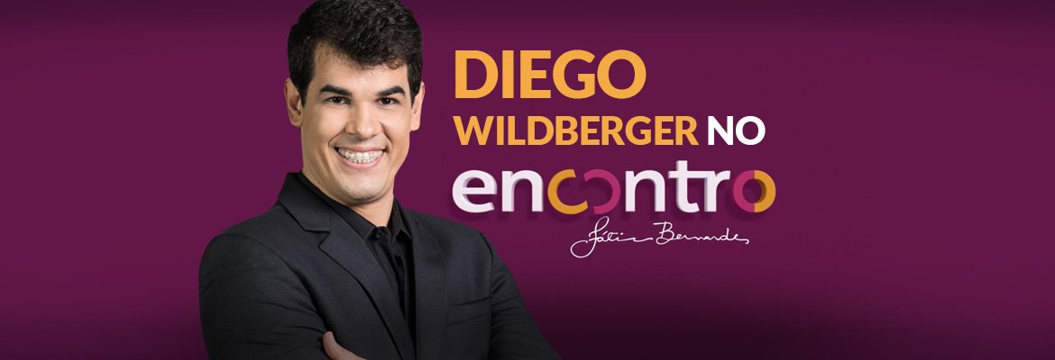 "Diego Wildberger participa do programa ""Encontro com Fátima Bernardes"""