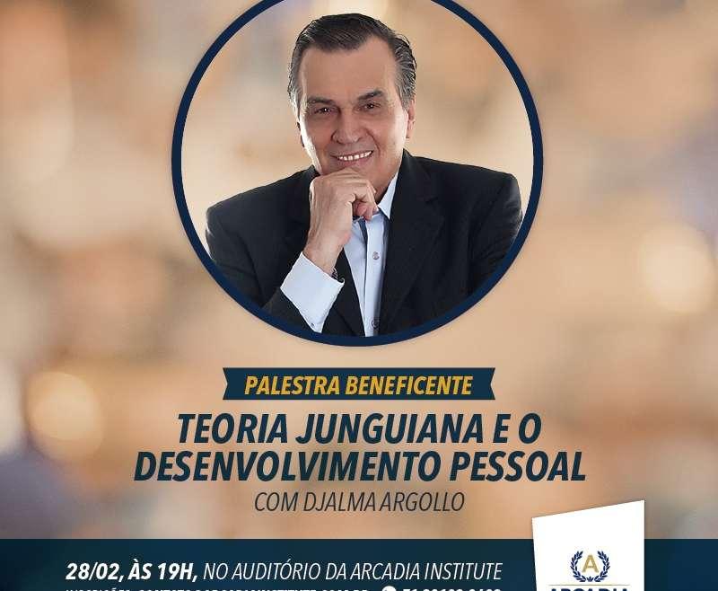Palestra beneficente com o escritor Djalma Argollo em Salvador