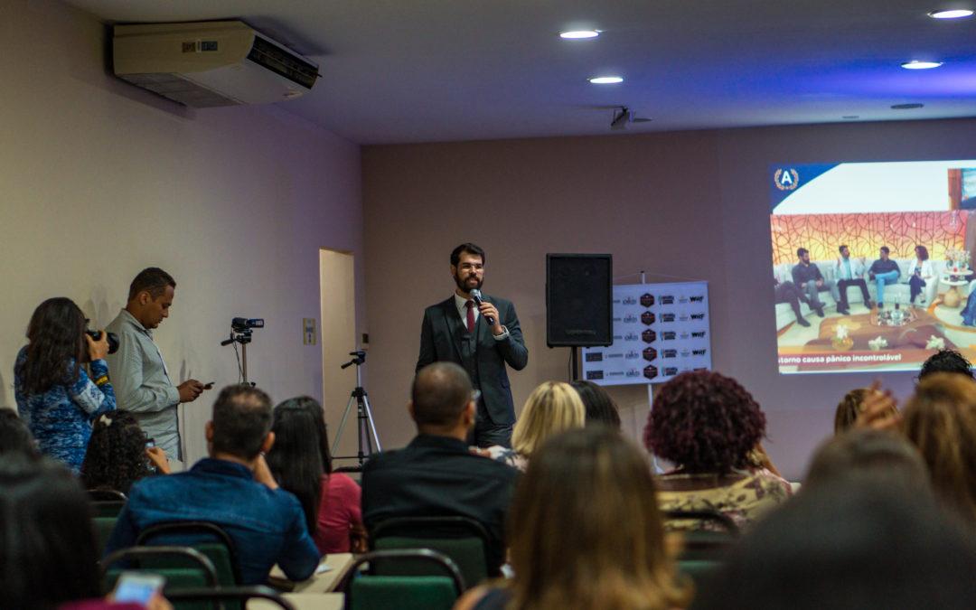 Diego Wildberger é palestrante do maior evento de hipnose do Nordeste